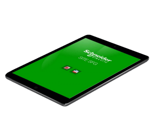 Schneider Electric Gardy Application ipad