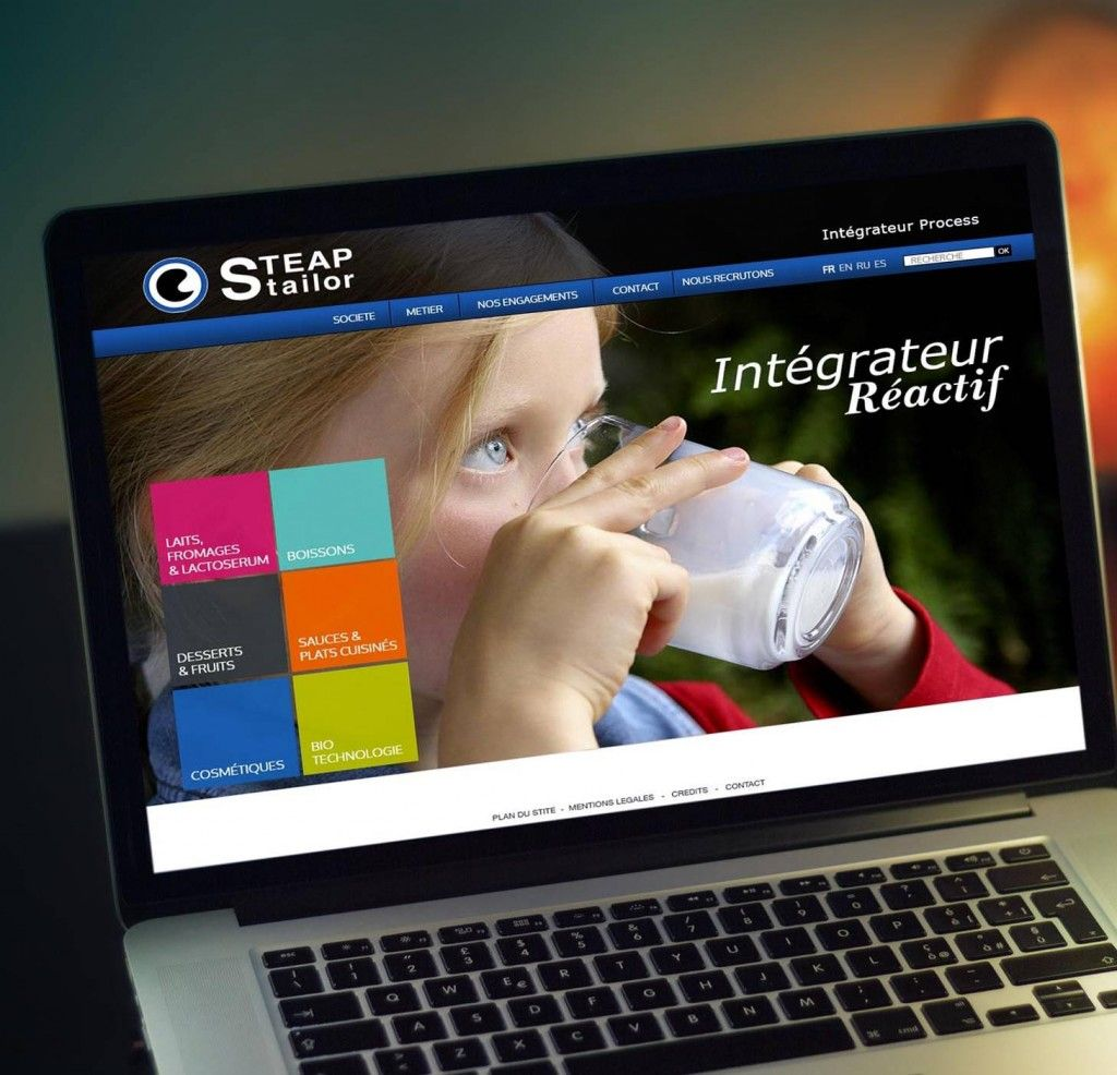 Site web steap stailor image